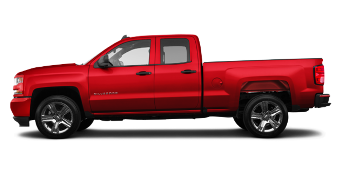 2016 Chevrolet Silverado 1500 CUSTOM | Photo 4 | Red Hot