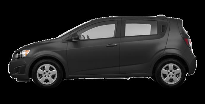 2016 Chevrolet Sonic Hatchback LS   Photo 4   Nightfall Grey Metallic