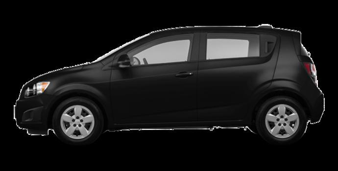 2016 Chevrolet Sonic Hatchback LS   Photo 4   Mosaic Black Metallic