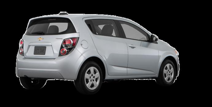 2016 Chevrolet Sonic Hatchback LS   Photo 5   Silver Ice Metallic