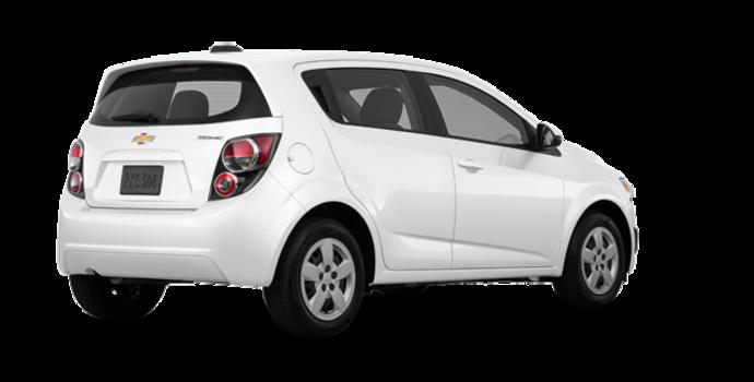2016 Chevrolet Sonic Hatchback LS   Photo 5   Summit White