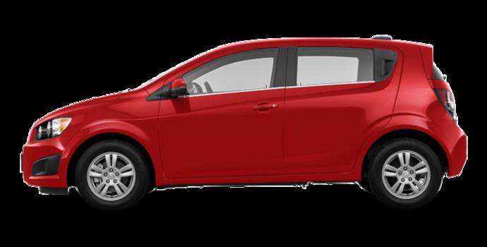 2016 Chevrolet Sonic Hatchback LT   Photo 4   Red Hot