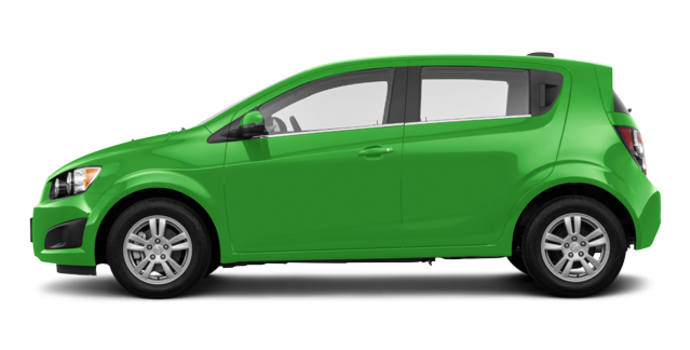 2016 Chevrolet Sonic Hatchback LT   Photo 4   Dragon Green Metallic