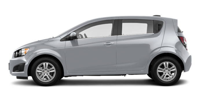 2016 Chevrolet Sonic Hatchback LT   Photo 4   Silver Ice Metallic