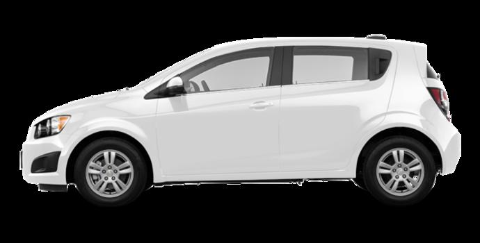 2016 Chevrolet Sonic Hatchback LT   Photo 4   Summit White