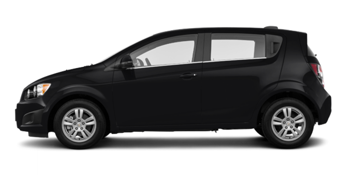2016 Chevrolet Sonic Hatchback LT   Photo 4   Mosaic Black Metallic