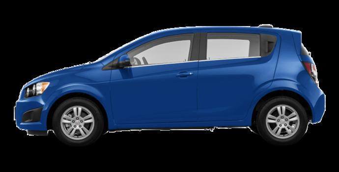 2016 Chevrolet Sonic Hatchback LT   Photo 4   Kinetic Blue Metallic