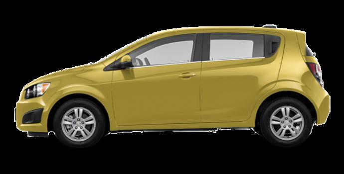 2016 Chevrolet Sonic Hatchback LT   Photo 4   Bright Yellow