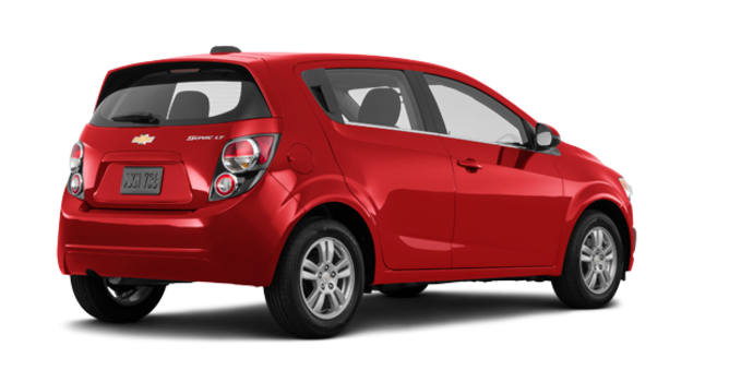 2016 Chevrolet Sonic Hatchback LT   Photo 5   Red Hot