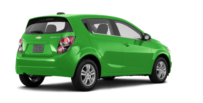 2016 Chevrolet Sonic Hatchback LT   Photo 5   Dragon Green Metallic