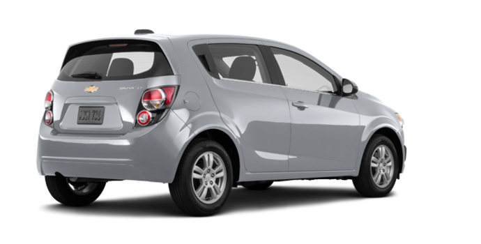 2016 Chevrolet Sonic Hatchback LT   Photo 5   Silver Ice Metallic