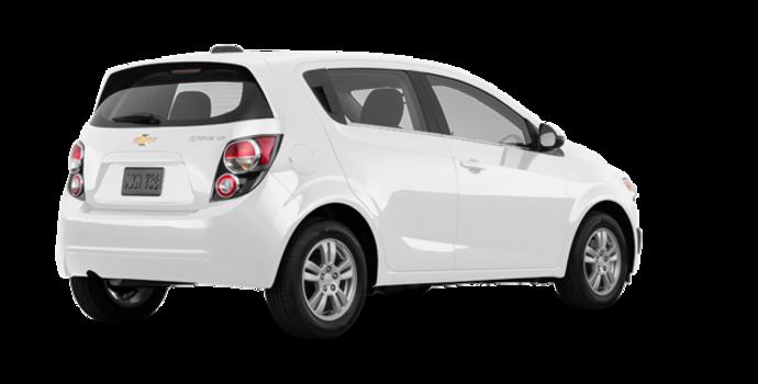 2016 Chevrolet Sonic Hatchback LT   Photo 5   Summit White