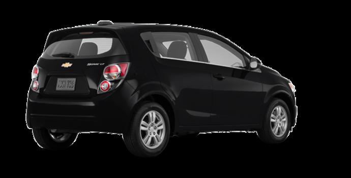2016 Chevrolet Sonic Hatchback LT   Photo 5   Mosaic Black Metallic