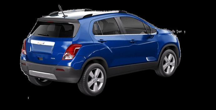 2016 Chevrolet Trax LTZ   Photo 5   Blue Topaz Metallic