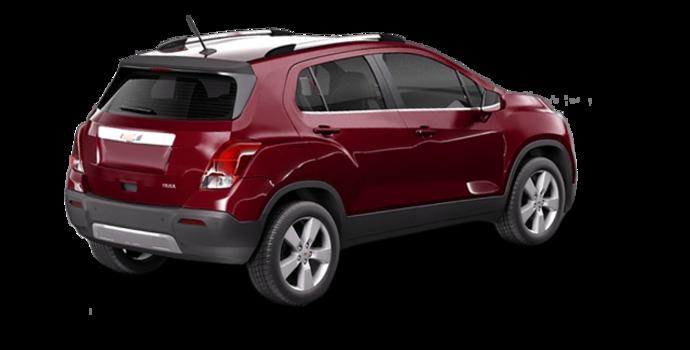 2016 Chevrolet Trax LTZ   Photo 5   Crimson Metallic