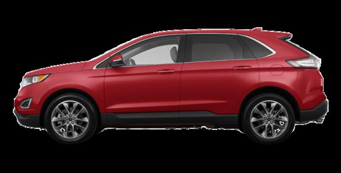 2016 Ford Edge TITANIUM | Photo 4 | Ruby Red