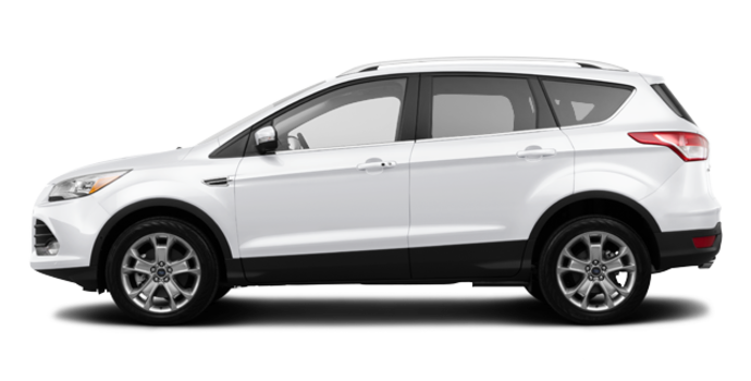 2016 Ford Escape TITANIUM | Photo 4 | White Platinum
