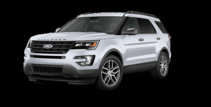2016 Ford Explorer SPORT | Photo 6 | White Platinum