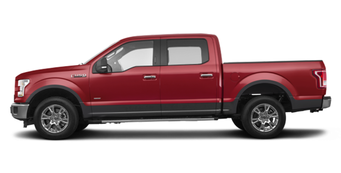 2016 Ford F-150 XLT | Photo 4 | Ruby Red/Magnetic