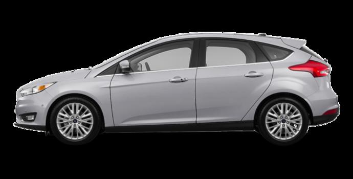 2016 Ford Focus Hatchback TITANIUM | Photo 4 | Ingot Silver Metallic