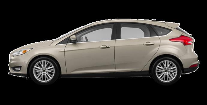 2016 Ford Focus Hatchback TITANIUM | Photo 4 | Tectonic Metallic