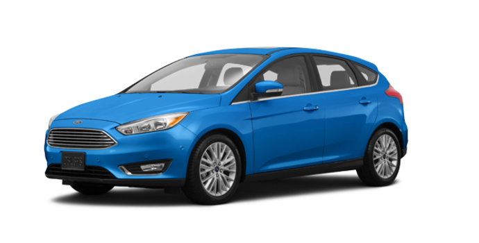 2016 Ford Focus Hatchback TITANIUM | Photo 6 | Blue Candy Metallic