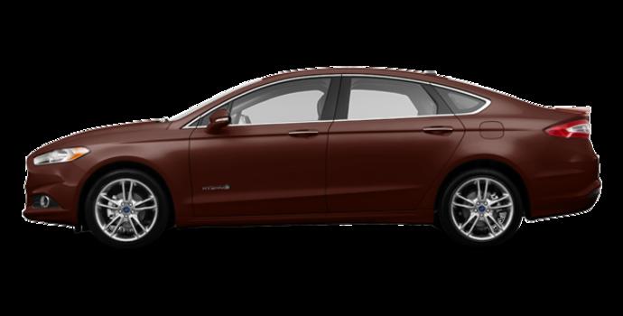2016 Ford Fusion Hybrid TITANIUM | Photo 4 | Bronze Fire