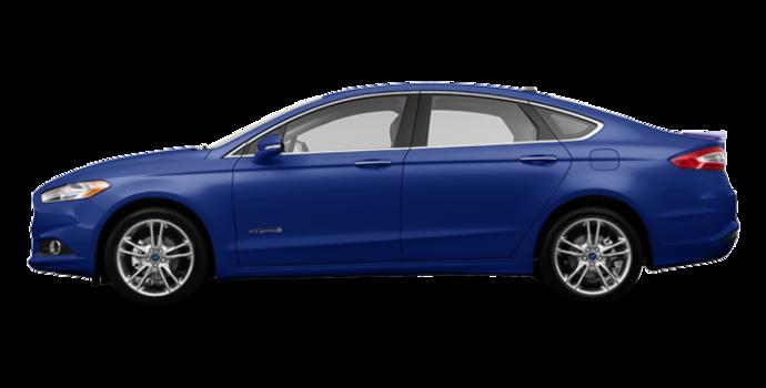 2016 Ford Fusion Hybrid TITANIUM | Photo 4 | Deep Impact Blue