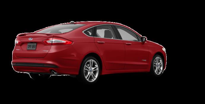 2016 Ford Fusion Hybrid TITANIUM | Photo 5 | Ruby Red