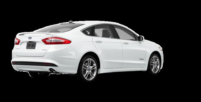 2016 Ford Fusion Hybrid TITANIUM | Photo 5 | Oxford White