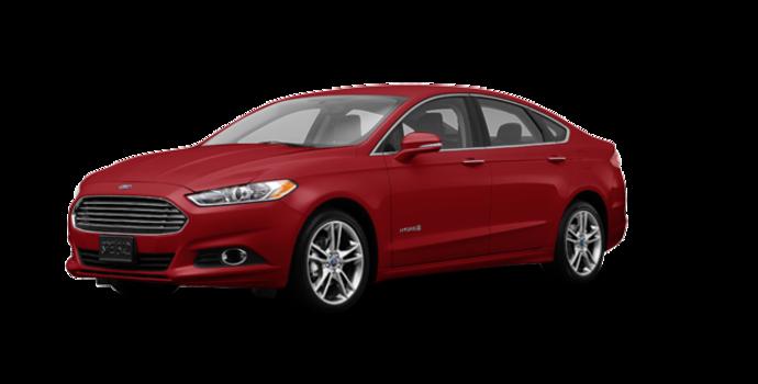 2016 Ford Fusion Hybrid TITANIUM | Photo 6 | Ruby Red
