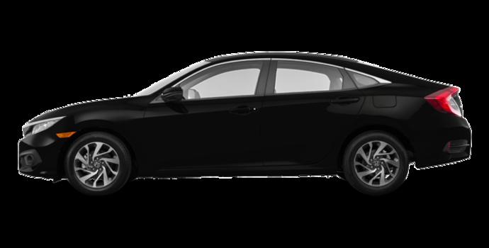 2016 Honda Civic Sedan EX-SENSING   Photo 4   Crystal Black Pearl