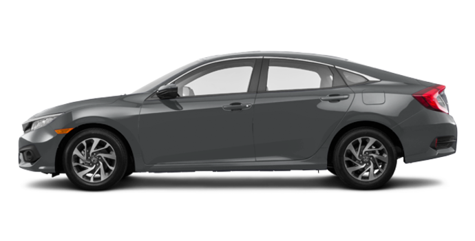 2016 Honda Civic Sedan EX-SENSING   Photo 4   Modern Steel Metallic