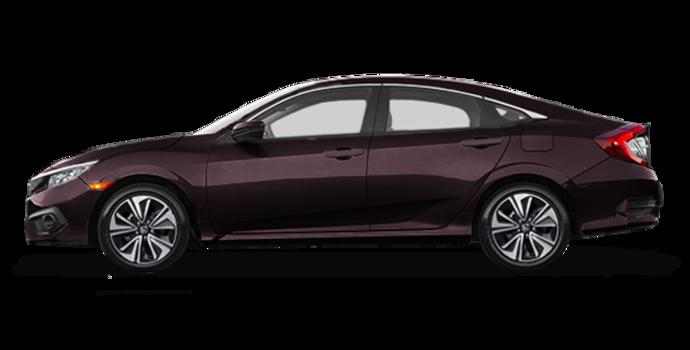 2016 Honda Civic Sedan EX-T | Photo 4 | Burgandy Night Pearl