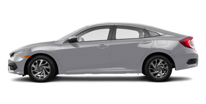2016 Honda Civic Sedan EX | Photo 4 | Lunar Silver Metallic