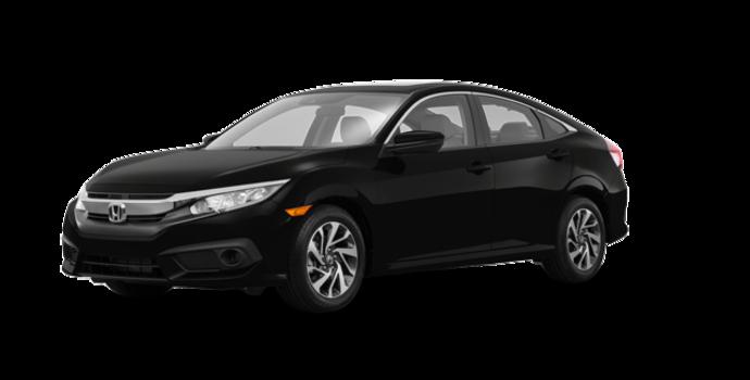 2016 Honda Civic Sedan EX | Photo 6 | Crystal Black Pearl