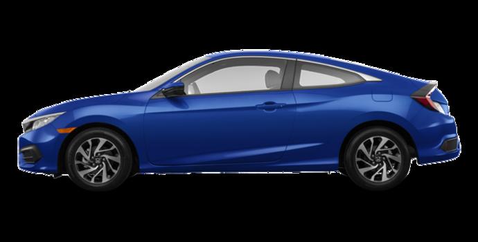 2016 Honda Civic Coupe LX | Photo 4 | Aegean Blue Metallic