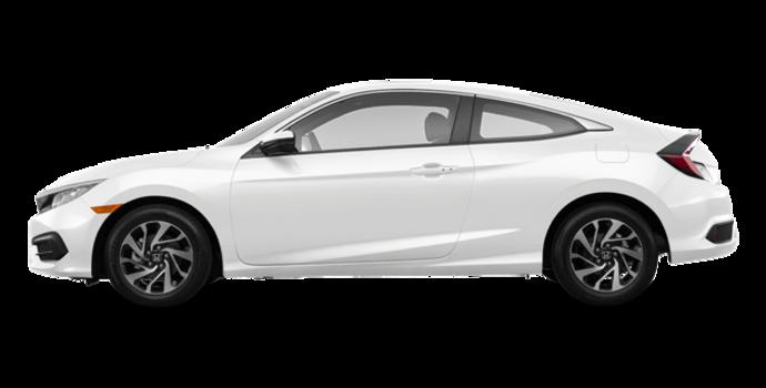 2016 Honda Civic Coupe LX | Photo 4 | Taffeta White