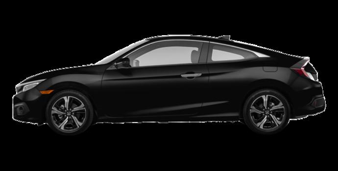 2016 Honda Civic Coupe TOURING | Photo 4 | Crystal Black Pearl