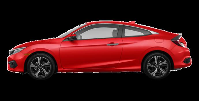 2016 Honda Civic Coupe TOURING | Photo 4 | Rallye Red