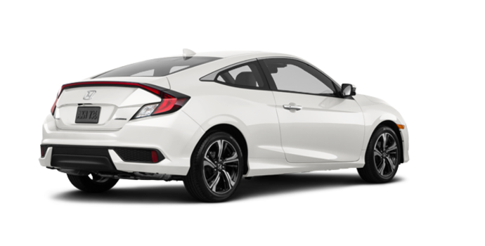 2016 Honda Civic Coupe TOURING | Photo 5 | White Orchid Pearl