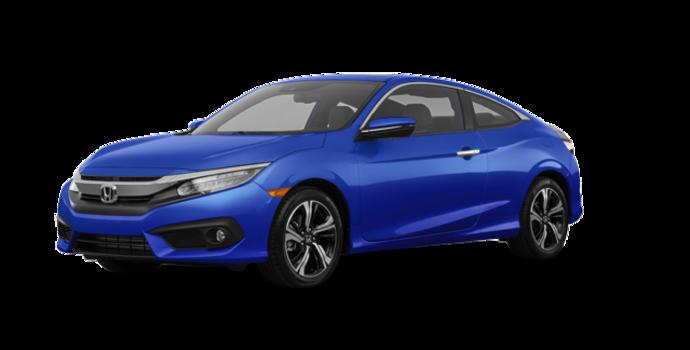 2016 Honda Civic Coupe TOURING | Photo 6 | Aegean Blue Metallic
