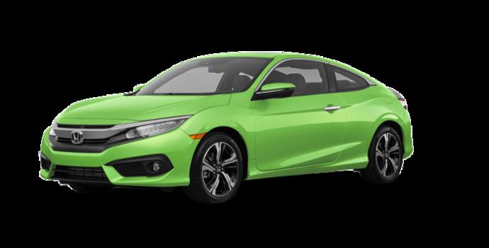 2016 Honda Civic Coupe TOURING | Photo 6 | Energy Green Pearl