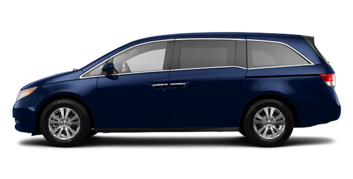 2016 Honda Odyssey EX-L Navi | Photo 4 | Obsidian Blue Pearl
