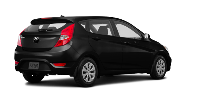 2016 Hyundai Accent 5 Doors L | Photo 5 | Ultra Black