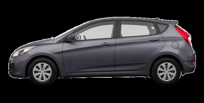 2016 Hyundai Accent 5 Doors LE   Photo 4   Triathlon Grey