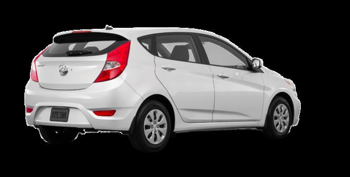2016 Hyundai Accent 5 Doors LE   Photo 5   Century White