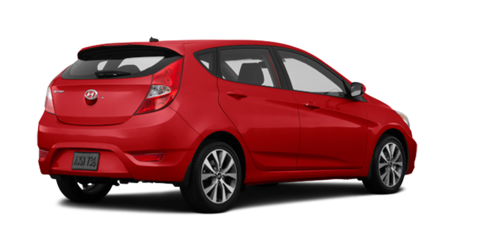 2016 Hyundai Accent 5 Doors SE | Photo 5 | Boston Red