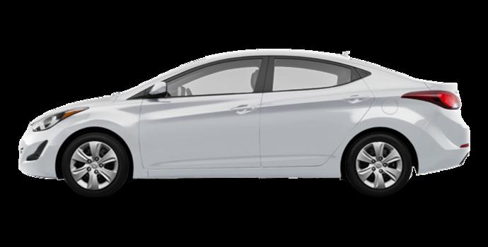 2016 Hyundai Elantra L | Photo 4 | Ice White