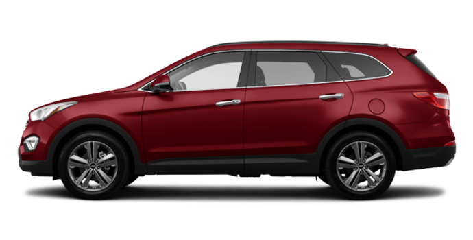 2016 Hyundai Santa Fe XL LIMITED | Photo 4 | Regal Red Pearl